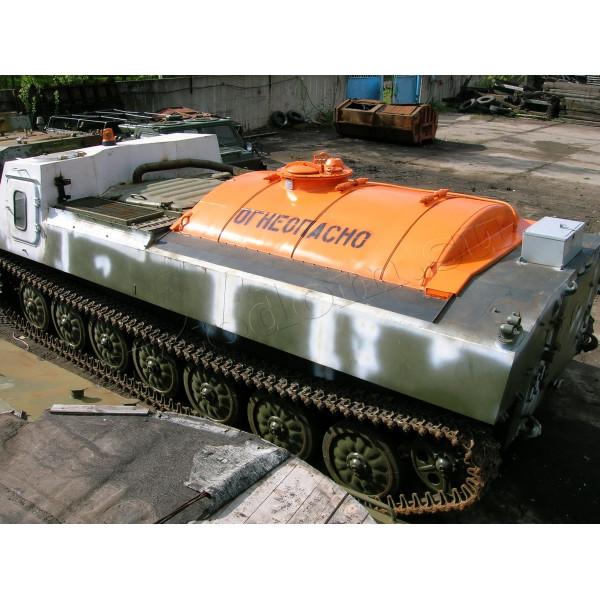 Топливозаправщик на базе гусеничного вездехода 2С1