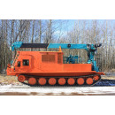 Special multi-functional hoist HLC-7016L with working platform on crawler chassis TGM-21-mtlbu