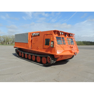 Snow-mobile cargo-passenger TGM 21-07 on the basis of MTLBu